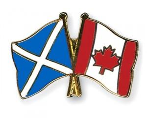 Scotland-Canada Flag