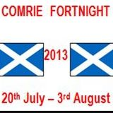 Comrie Fortnight Logo 2013