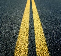 double-yellow-line-road-marking