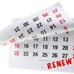 Renew Calendar