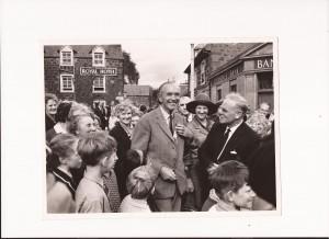 Sir Alex Douglas-Home in Comrie
