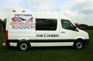Courier Ref Van