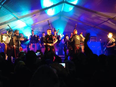 Chilli Pipers in Comrie