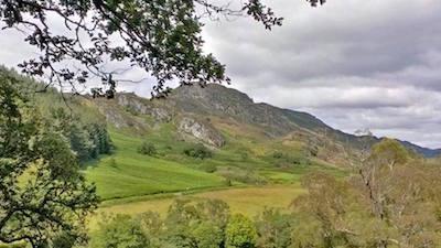 Towards Glen Lednock